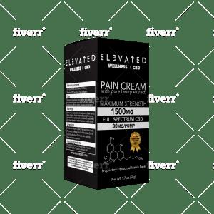 1500mg Full Spectrum CBD Cream for Pain