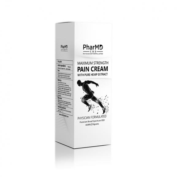 PharMD 400mg Broad Spectrum CBD Pain Cream